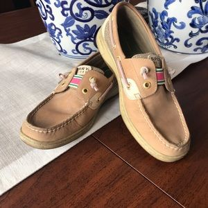 Sperry Long front boat shoes 6